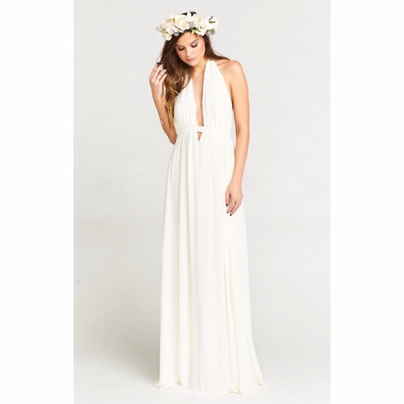 Show Me Your Mumu Dresses Luna Wedding Cake Chiffon Dress Poshmark